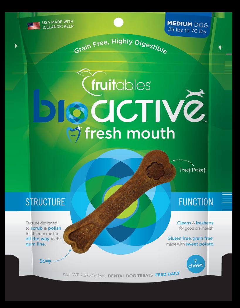 Fruitables BioActive Dental Chew